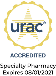Accredited by URAC - Specialy pharmacy